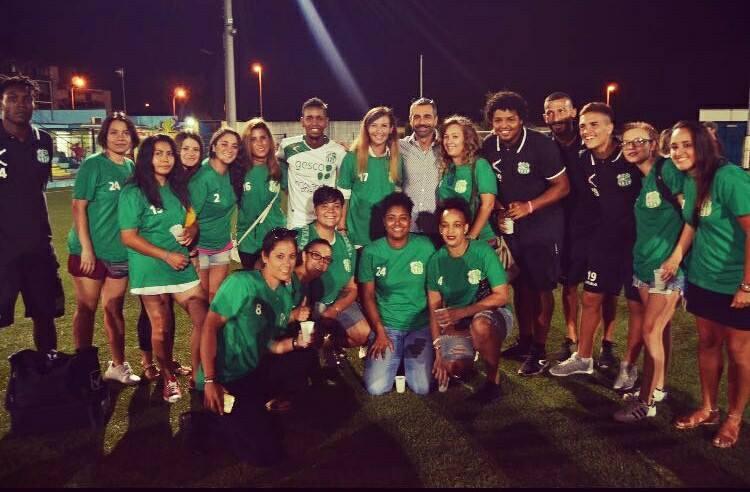 Finisce il caso Afro-Napoli: le giocatrici della squadra femminile sono state svincolate