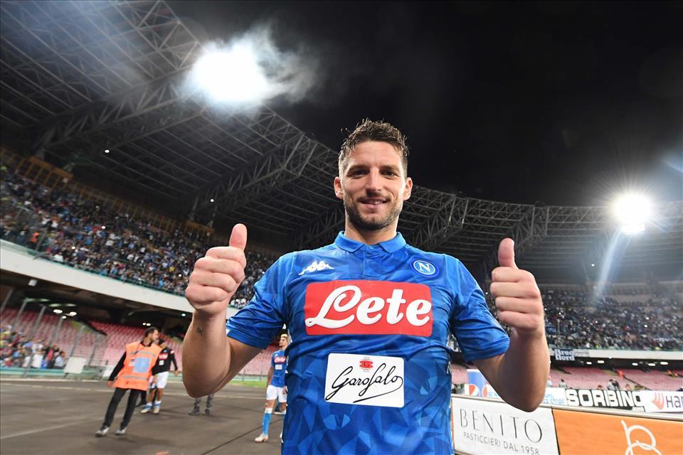 Mertens: «Voglio essere capocannoniere, col Frosinone avrei potuto segnare…»