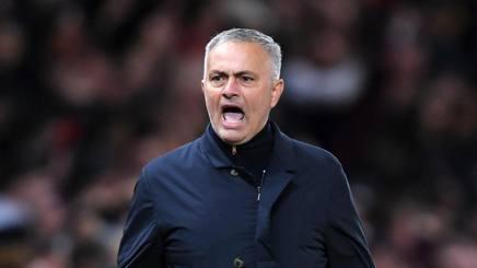 Mourinho: «C'è stata una caccia all'uomo contro di me»