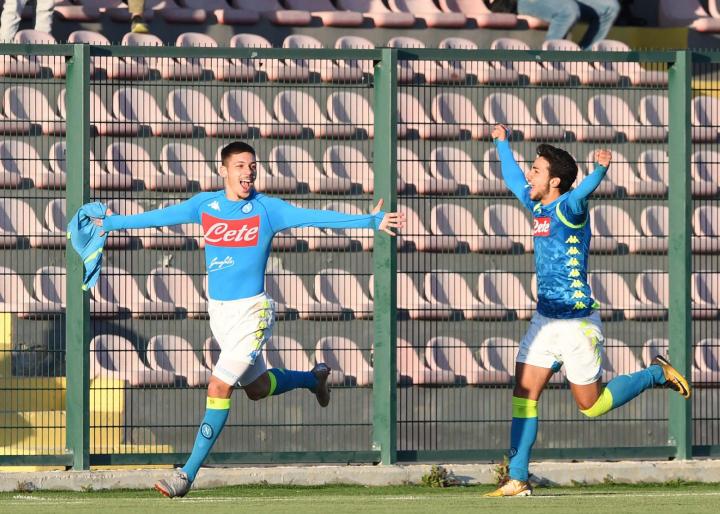 Youth League: Gaetano show, Napoli-Stella Rossa 5-3