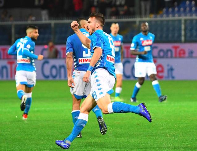 Fabian Ruiz trascina il Napoli fuori dal pantano di Genova