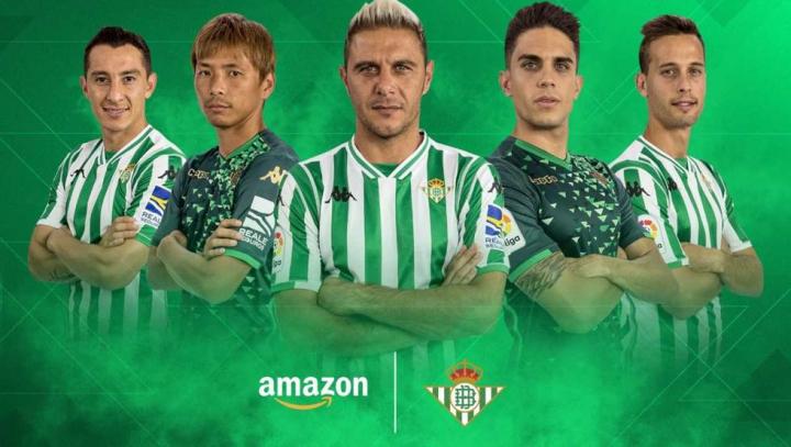 Il Betis Siviglia è il secondo club al mondo ad aprire uno store su Amazon