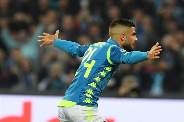 Il record di Insigne: 5 gol consecutivi in casa in Champions