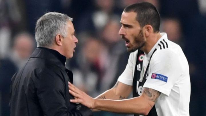 La Gazzetta su Mourinho e Bonucci: «Mai che un calciatore critichi gli insulti dei suoi tifosi»