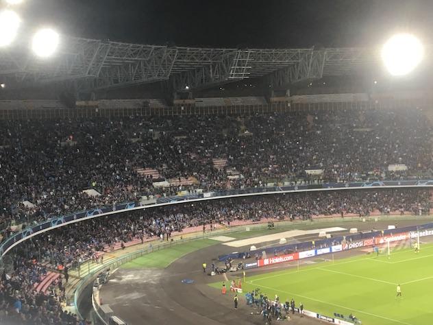 I biglietti Champions del Napoli sono i meno costosi in Italia