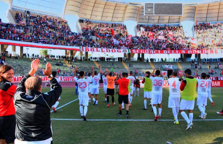 Prima sconfitta per il Bari: 3-2 per la Cittanovese