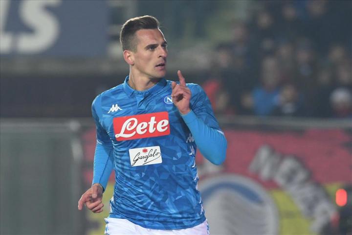 #HovistoMilik, e il suo gol più bello con il Napoli