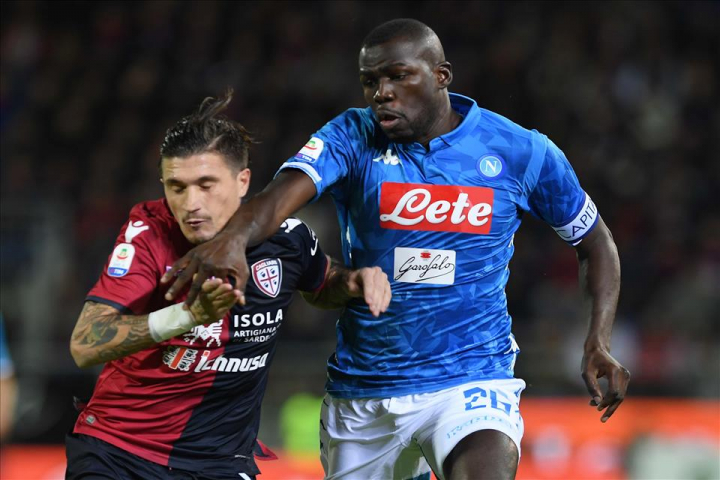 Cagliari-Napoli 0-1, pagelle / Cresce il portamento da leader di KK
