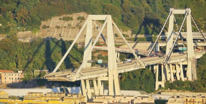 Ponte Morandi: nella legge di Bilancio niente zona Arancione