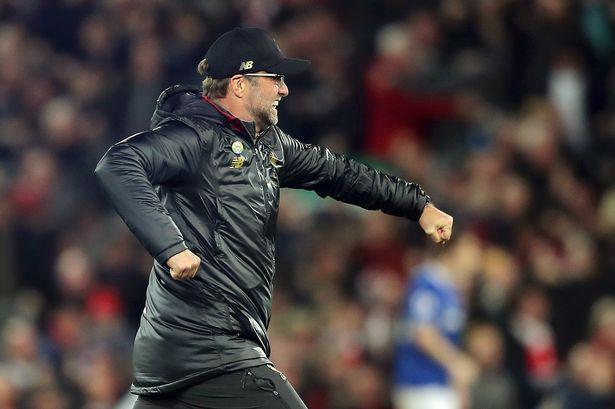 Klopp accusato di cattiva condotta per l'esultanza in Liverpool-Everton