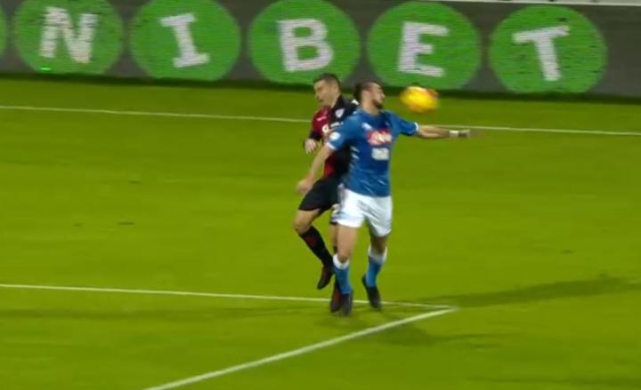 L'ex arbitro Marelli: «Manca un rigore al Napoli»