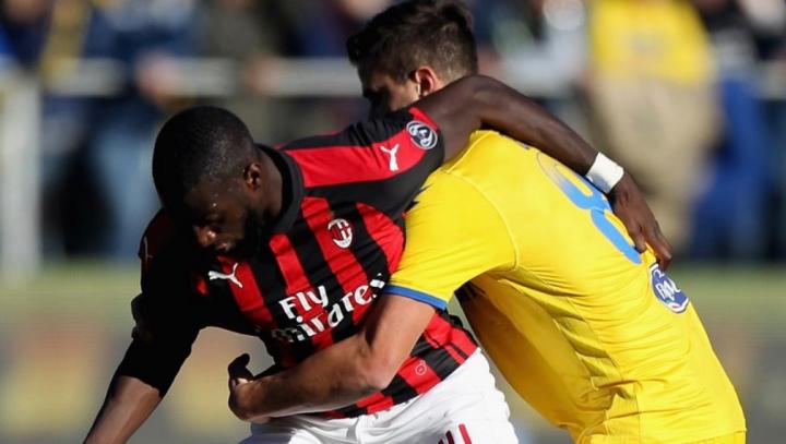 Frosinone-Milan 0-0, Gattuso ancora a secco