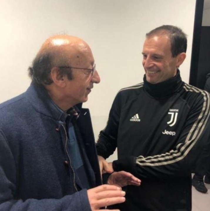 Repubblica: «Moggi fa visita alla Juventus, peccato sia stato radiato»