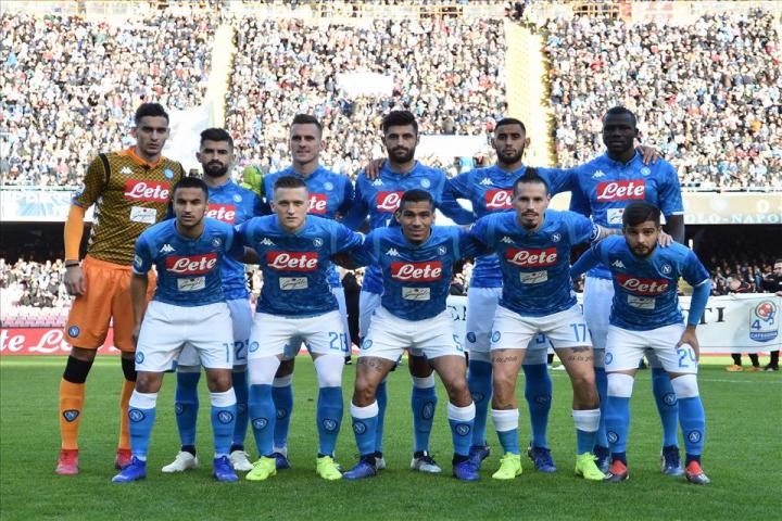 Il Napoli è giovane: età media di 25,09 per l'undici titolare