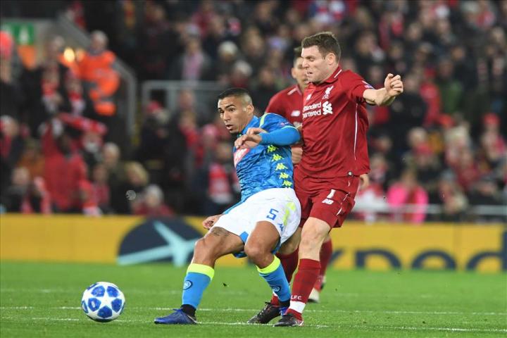 Come il Liverpool ha tolto l'aria al Napoli