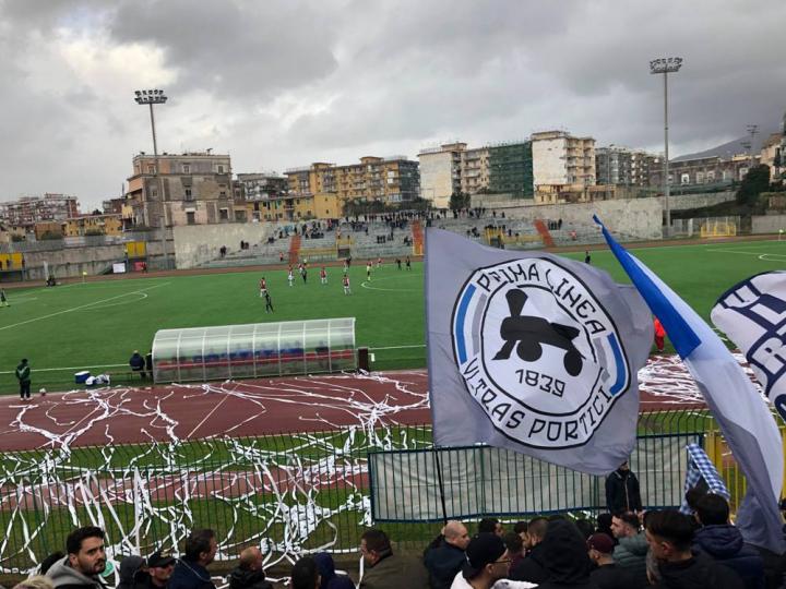 L'orgoglio di Portici più forte della sconfitta col Bari
