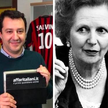 La sottile differenza tra Salvini e Margaret Thatcher