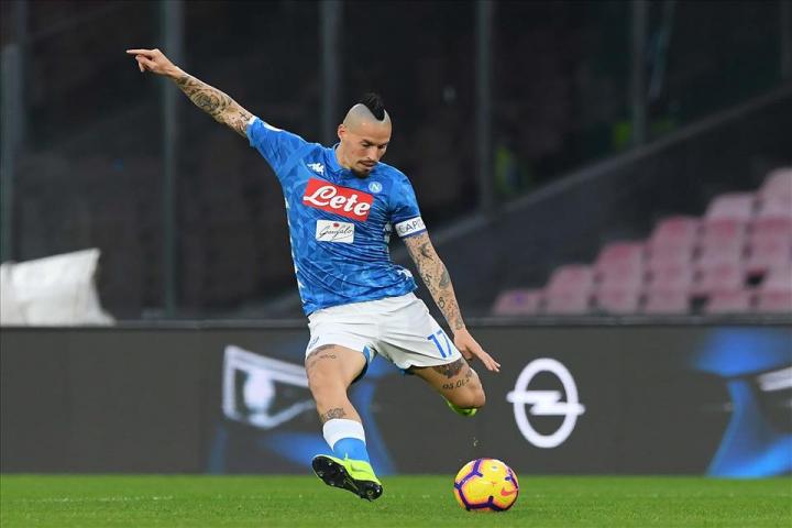 Il Napoli è la squadra con più tiri in porta in Serie A
