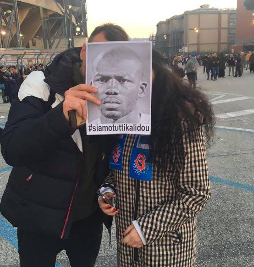 """Per la Gazzetta """"a Napoli le curve si sono astenute dall'omaggio a Koulibaly"""""""