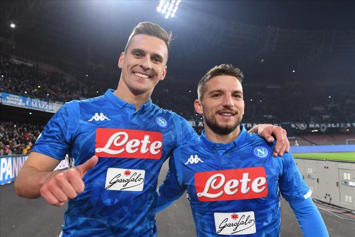 Fiorentina-Napoli: in attacco dubbio Milik che si è allenato poco