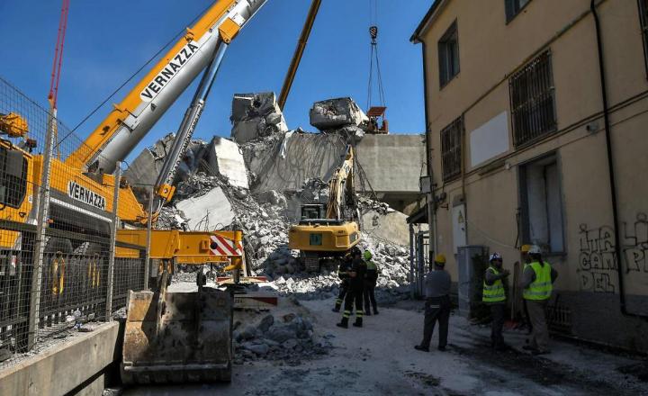 Ponte Morandi: la cordata genovese per la demolizione rischia di perdere pezzi