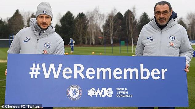 Il Chelsea lancia la campagna #WeRemember per la Shoah