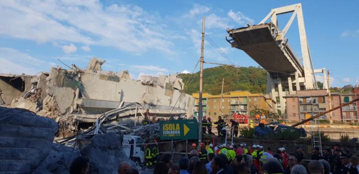 Ponte Morandi: Autostrade paga le case degli sfollati. Ma sul resto delle somme esprime riserve