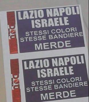 """Repubblica: """"nessuno ha visto i volantini antisemiti e antiNapoli»"""
