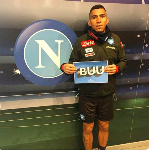 Il Napoli aderisce alla campagna Buu dell'Inter