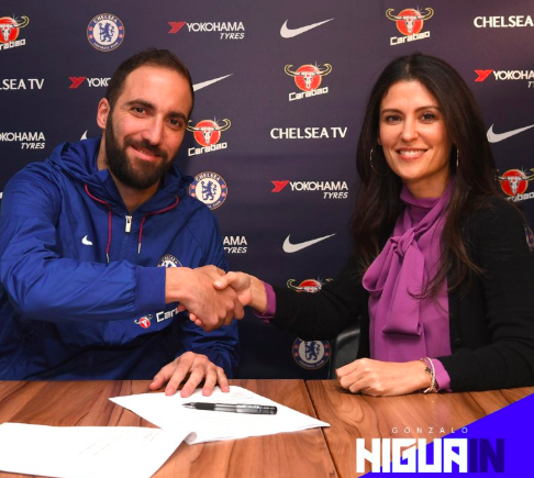 È ufficiale: Higuain è al Chelsea dove ritrova Sarri
