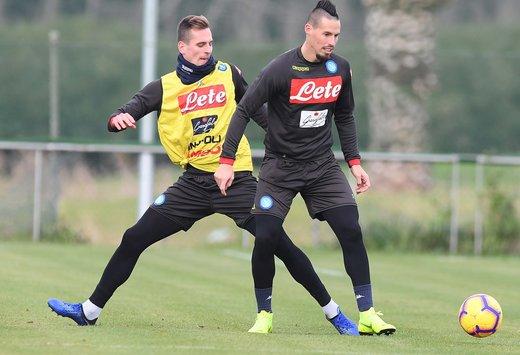 Coppa Italia, per Milan-Napoli non convocati Hysaj e Albiol. Torna Allan