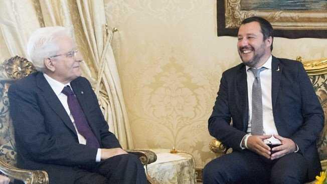 Salvini ha ignorato le parole di Mattarella sugli ultras e sul calcio