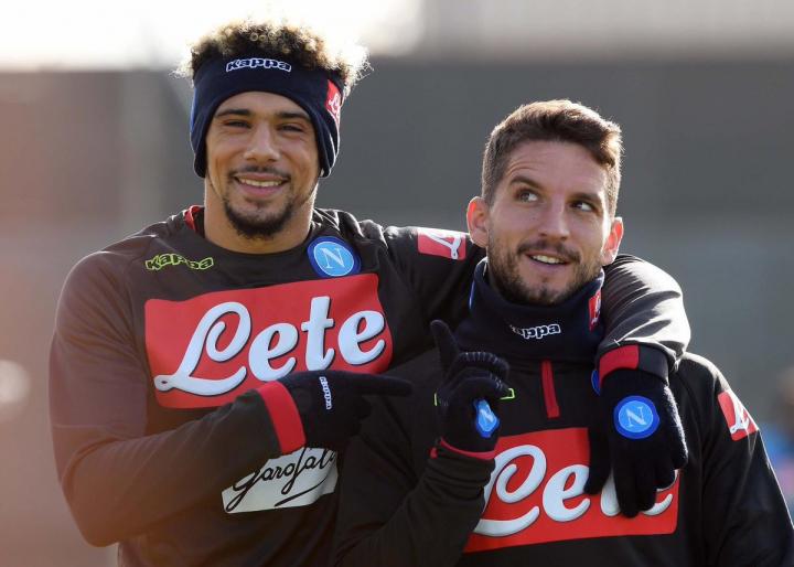 Napoli, Mertens oggi si è allenato in gruppo