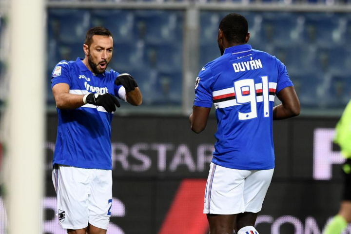 Zapata e Quagliarella re del gol come CR7