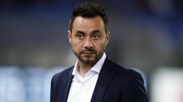 """De Zerbi: """"Domani indosseremo la maglia del Sassuolo, non quella della salute"""""""