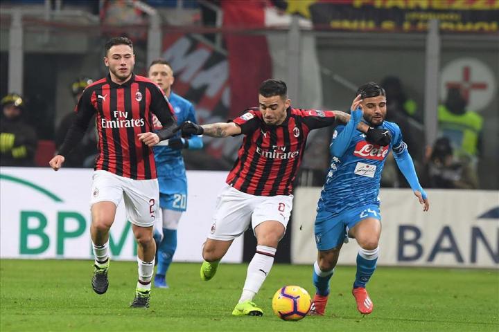 Contro il Napoli, il Milan senza Bennacere Calhanoglu