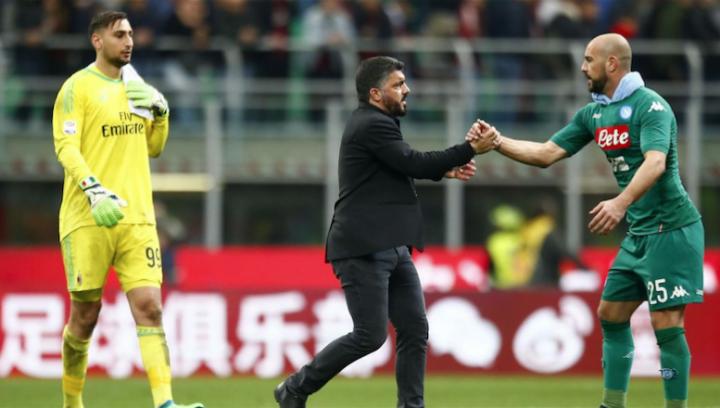 """Donnarumma al top, Gattuso elogia Reina: """"Lui non fa giochini"""""""