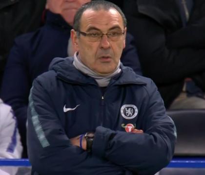 I tifosi del Chelsea boicottano Sarri e mettono i vendita gl