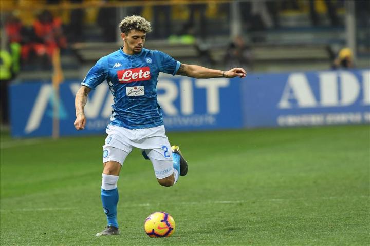 Suicidio Malcuit, espulso Meret. Primo tempo: Napoli-Juve 0-2