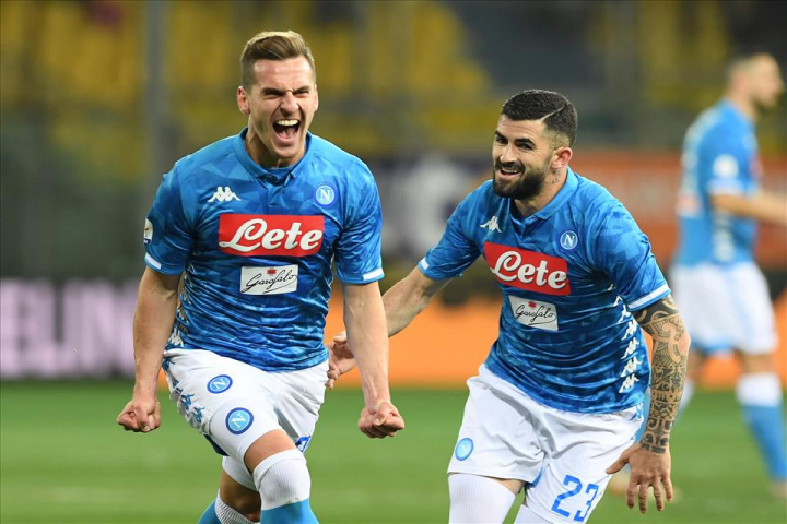 Napoli: ballottaggi per i terzini e il centravanti. Juventus: CR7 gioca