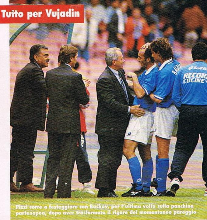 Pizzi e Matrecano, destini diversi con Boskov sulla Napoli-Parma