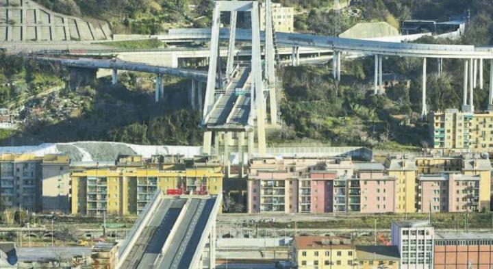 Ponte Morandi. Tra gli otto motivi per cui è stato scelto il progetto di Piano c'è l'avversione agli stralli