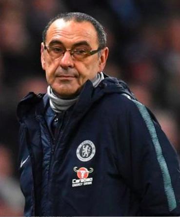 """Cori dei tifosi del Chelsea contro Sarri: """"Fuck Sarriball"""""""