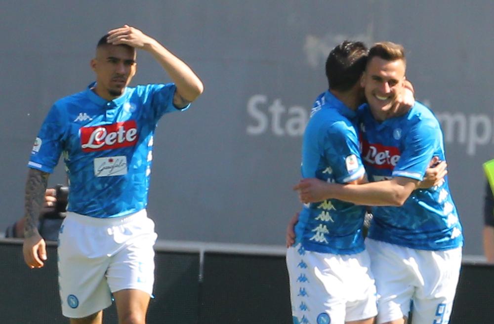 Roma-Napoli 1-4, pagelle / Milik è una boa gravida di gol