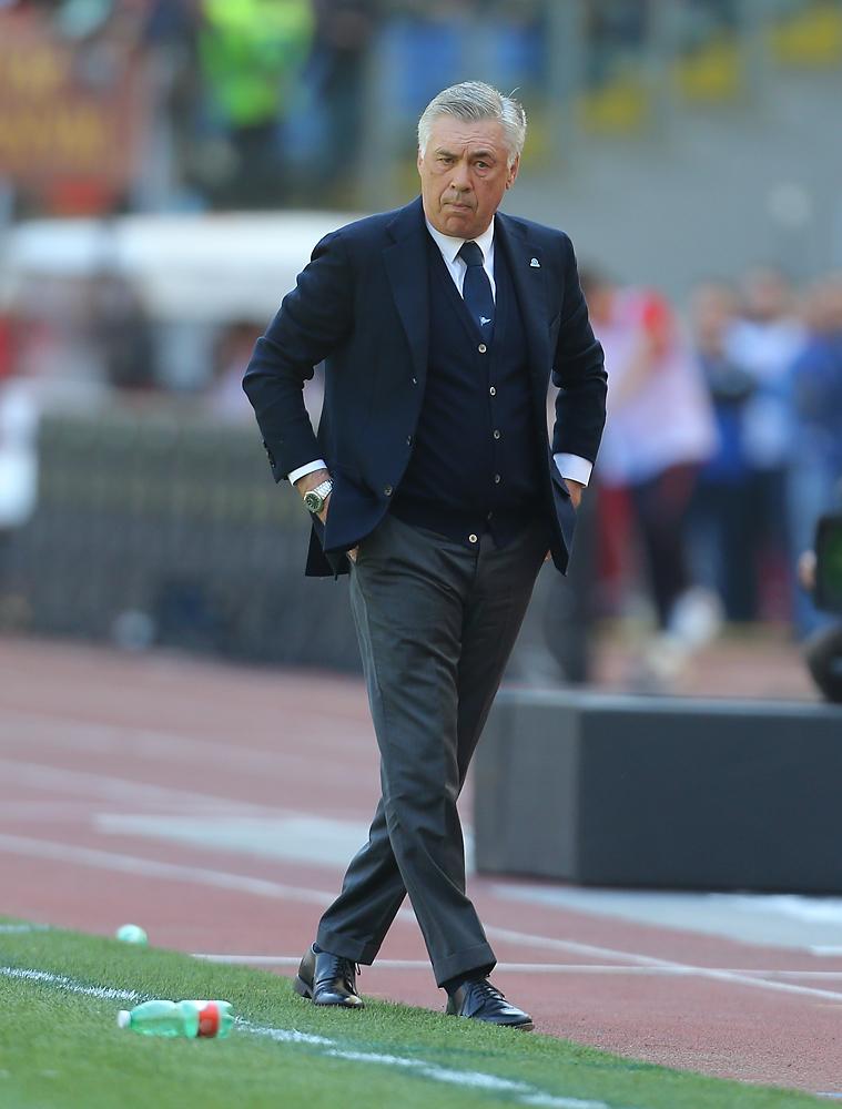 Ancelotti scontento dell'avvio del Napoli contro l'Arsenal