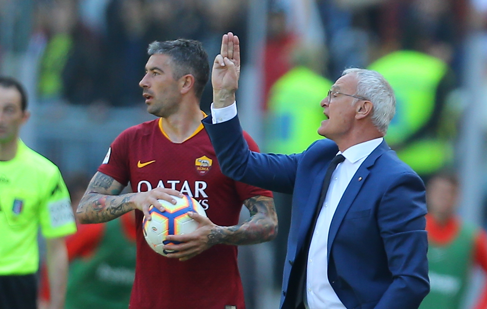 Ranieri: «Il Napoli ha meritato. Zaniolo non se l'è sentita, ringrazio chi ha stretto i denti e ha giocato»
