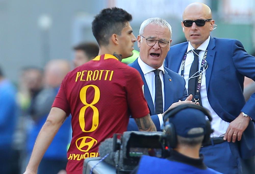 Infortunio Perotti (Roma), stop di almeno 45 giorni