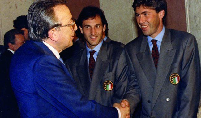 Ancelotti e Allegri smentiscono Andreotti: il potere logora chi ce l'ha