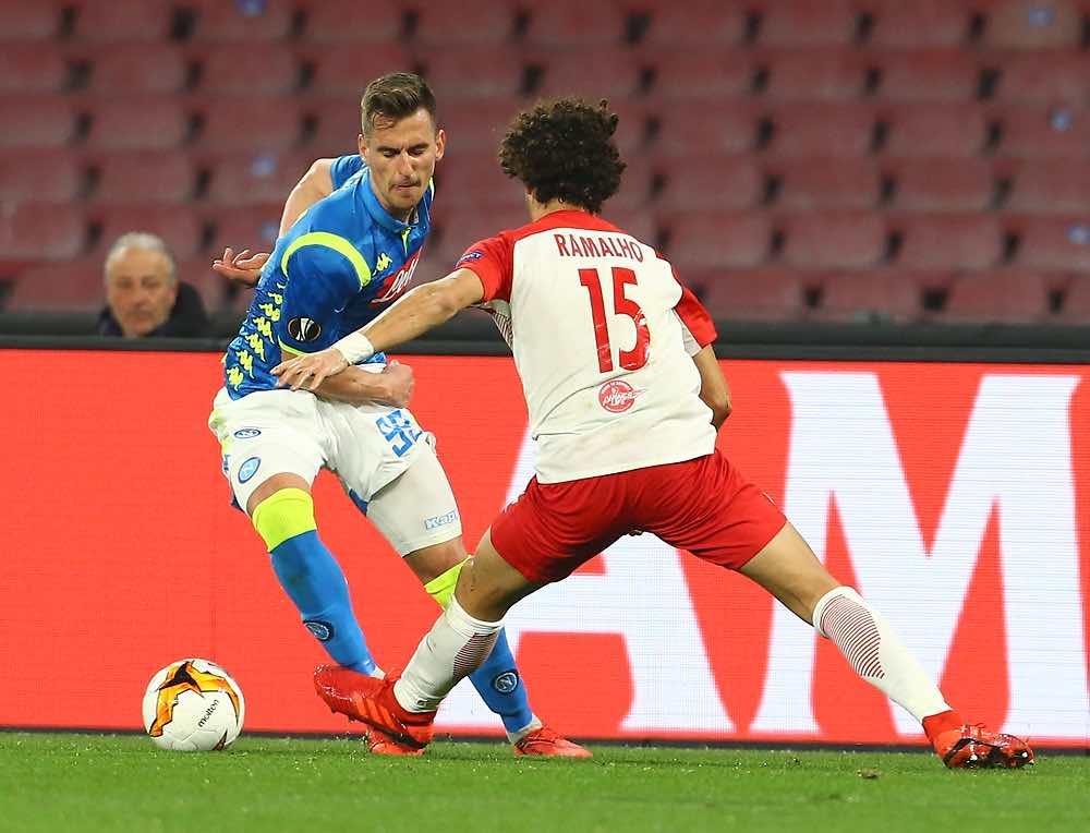 Il Napoli si qualifica per la quinta volta ai quarti di finale di una competizione europea