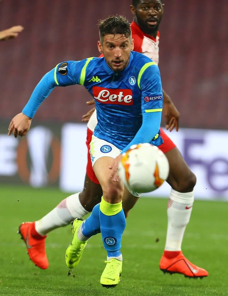 È Mertens l'uomo chiave per i gol del Napoli: con lui, un gol ogni 43 minuti. Senza, ogni 65